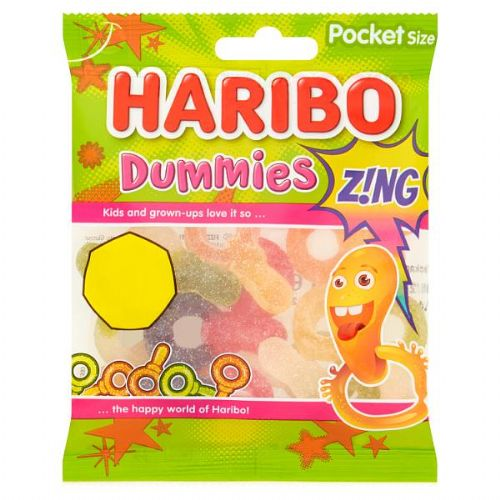 HARIBO Dummies Z!NG Bag 70g (UK)